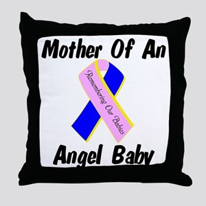 Mother Of An Angel Baby Throw Pillow