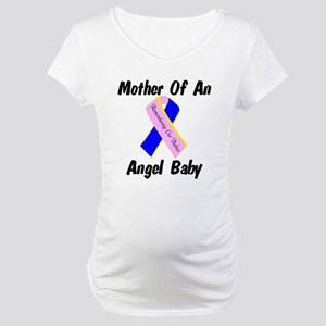 Mother Of An Angel Baby Maternity T-Shirt