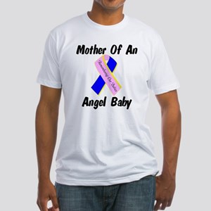 Mother Of An Angel Baby Fitted T-Shirt
