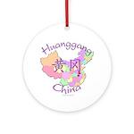 Huanggang China Ornament (Round)