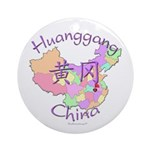 Huanggang China Ornament (Round)