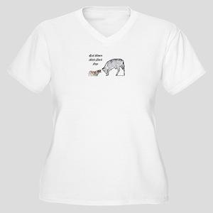 quadecow-1-1-1-1-2-regionals Plus Size T-Shirt