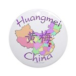 Huangmei China Ornament (Round)