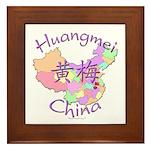 Huangmei China Framed Tile