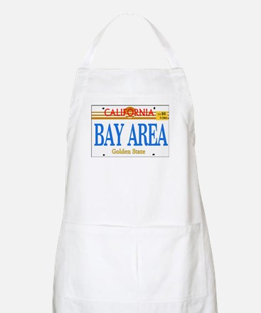 BAY AREA -- LINCENSE PLATE BBQ Apron
