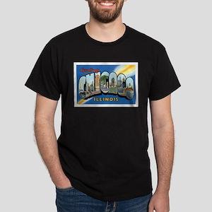 Chicago Illinois IL Dark T-Shirt