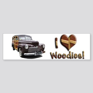 Helaine's Ford Woody Bumper Sticker