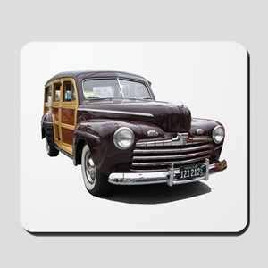 Helaine's Ford Woody Mousepad