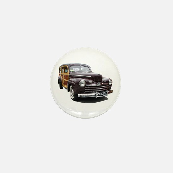 Helaine's Ford Woody Mini Button