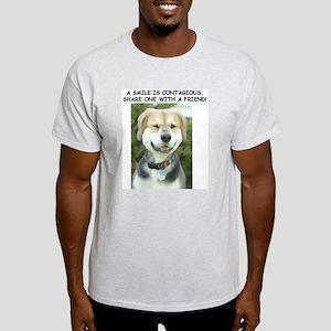 Teddy Smile Ash Grey T-Shirt