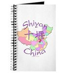 Shiyan China Map Journal