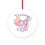 Tianmen China Ornament (Round)