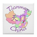 Tianmen China Tile Coaster