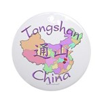 Tongshan China Ornament (Round)