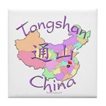 Tongshan China Tile Coaster
