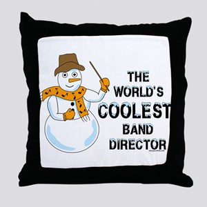 Coolest Director Throw Pillow