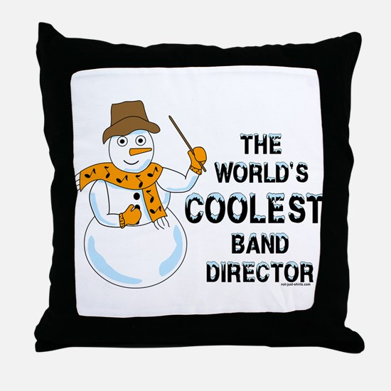 Coolest Director Throw Pillow