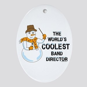 Coolest Director Oval Ornament