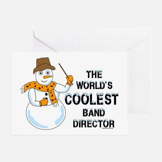 Coolest Director Greeting Card