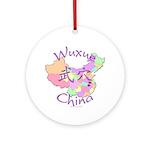 Wuxue China Ornament (Round)