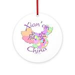Xian'an China Ornament (Round)