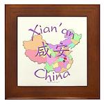 Xian'an China Framed Tile