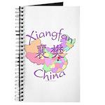 Xiangfan China Map Journal