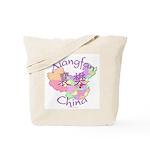 Xiangfan China Map Tote Bag