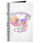 Xiangyang China Map Journal