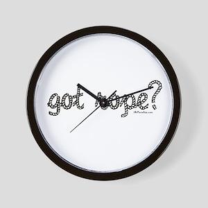 got rope? Wall Clock