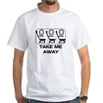*NEW DESIGN* Take Me Away White T-Shirt