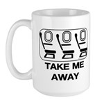 *NEW DESIGN* Take Me Away Large Mug