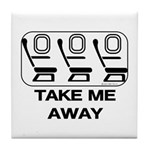 *NEW DESIGN* Take Me Away Tile Coaster