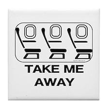 *NEW DESIGN* Take Me Away Tile Coaster