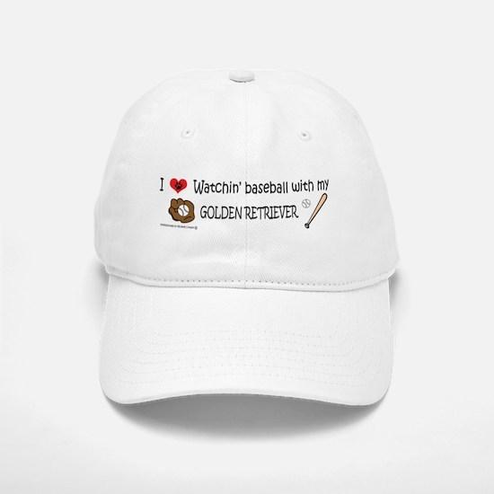 golden retriever Baseball Baseball Cap