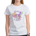 Xishui China Map Women's T-Shirt