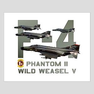 F-4 Wild Weasel Phantom Small Poster