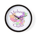 Yichang China Map Wall Clock