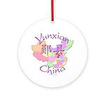 Yunxian China Ornament (Round)