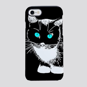 Blue Eyed Cat iPhone 8/7 Tough Case