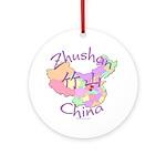 Zhushan China Ornament (Round)