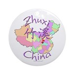 Zhuxi China Ornament (Round)