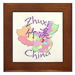 Zhuxi China Framed Tile