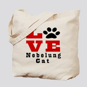 Love nebelung Cat Tote Bag
