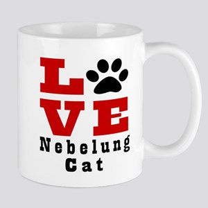 Love nebelung Cat Mug