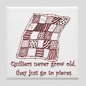 Quilters Tile Coaster