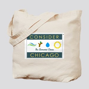 Consider Chicago Tote Bag