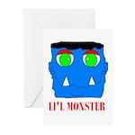 LI'L MONSTER Greeting Cards (Pk of 10)