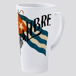 Cuba Libre 17 Oz Latte Mug