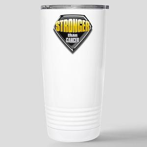 Stronger than cancer Stainless Steel Travel Mug